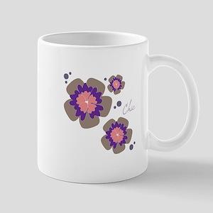 Chic Flowers Mugs
