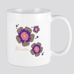Relaxation Flowers Mugs