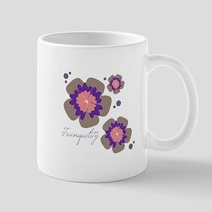 Tranquility Flowers Mugs