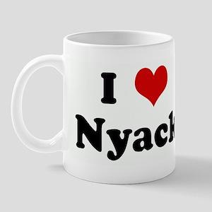 I Love Nyack Mug