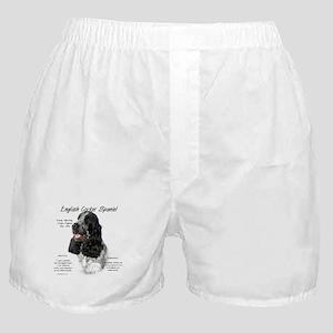 English Cocker (parti) Boxer Shorts