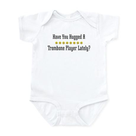 Hugged Trombone Player Infant Bodysuit
