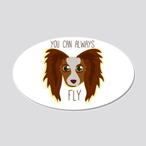 Papillion Fly Wall Decal