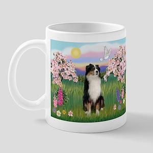 Blossoms & Aussie (#2) Mug