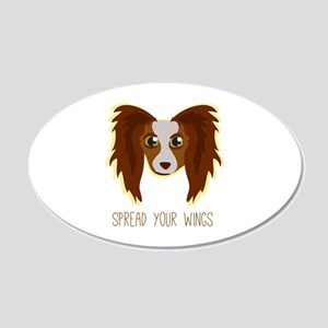 Dog Wings Wall Decal