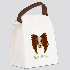 Dog Wings Canvas Lunch Bag