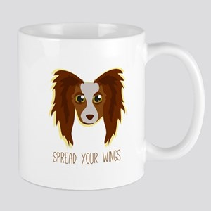Dog Wings Mugs