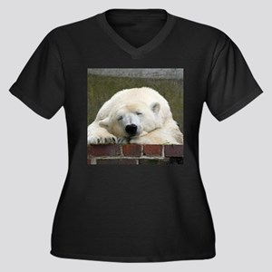 Polar bear 003 Plus Size T-Shirt