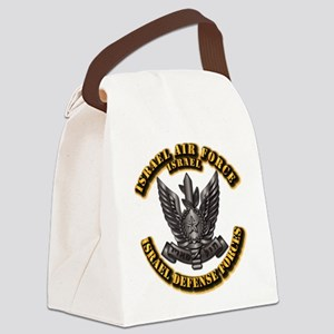 Israel - Air Force Hat Badge Canvas Lunch Bag