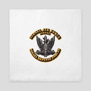 Israel - Air Force Hat Badge Queen Duvet