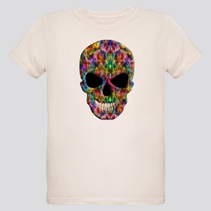 Colorful Fire Skull T-Shirt