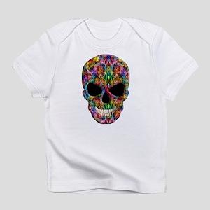 Colorful Fire Skull Infant T-Shirt