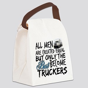 Best Become Truckers Canvas Lunch Bag
