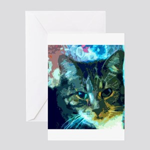 Gaugin's Cat Greeting Cards