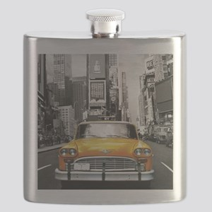 I LOVE NYC - New York Taxi Flask