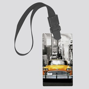 I LOVE NYC - New York Taxi Large Luggage Tag