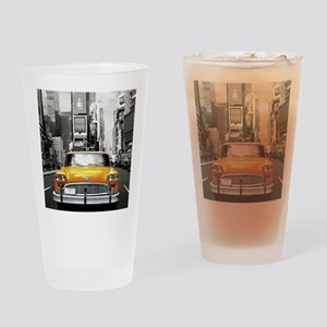 I LOVE NYC - New York Taxi Drinking Glass