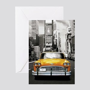 I LOVE NYC - New York Taxi Greeting Card