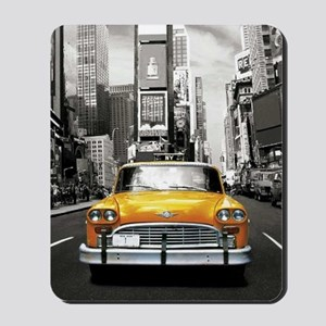 I LOVE NYC - New York Taxi Mousepad
