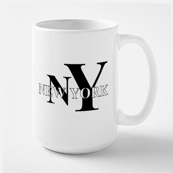 NY New York Large Mug