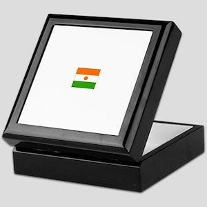 niger flag Keepsake Box