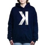 Letter K Women's Hooded Sweatshirt