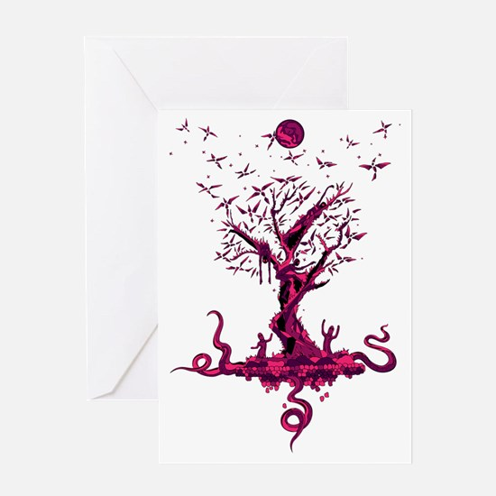 Shalmali bonsai Greeting Card