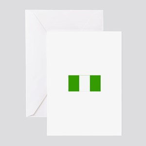 nigeria flag Greeting Cards (Pk of 10)