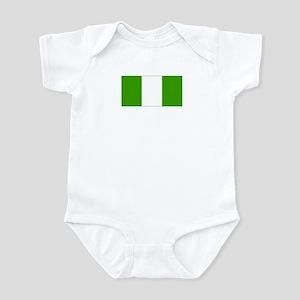 nigeria flag Infant Bodysuit