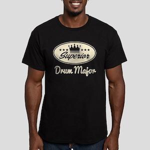 Superior Drum Major Men's Fitted T-Shirt (dark)