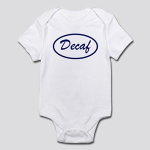 Decaf Name Patch Decaffeinated Infant Bodysuit