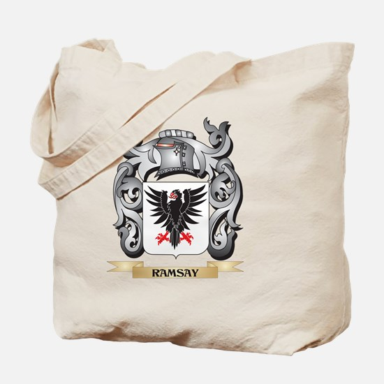 Ramsay Coat of Arms - Family Crest Tote Bag