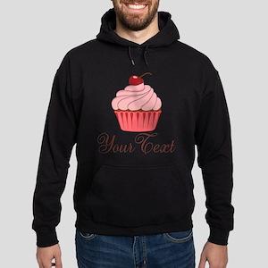 Personalizable Pink Cupcake Hoodie