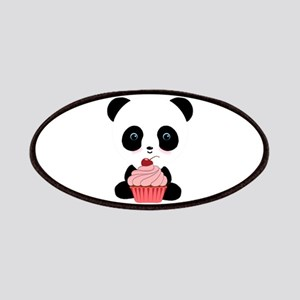 Panda Bear Cupcake Patches