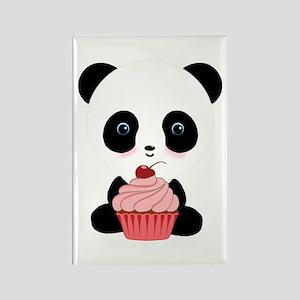 Panda Bear Cupcake Magnets