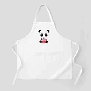 Panda Bear Cupcake Apron