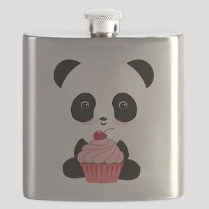 Panda Bear Cupcake Flask