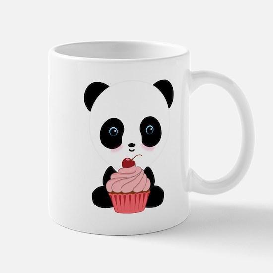 Panda Bear Cupcake Mugs