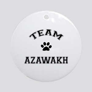 Team Azawakh Ornament (Round)