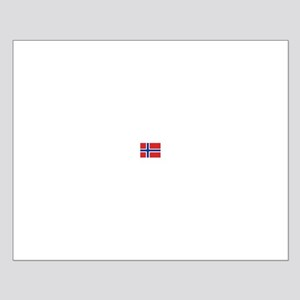 norway flag Small Poster