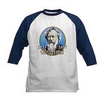 Johannes Brahms Kids Baseball Jersey