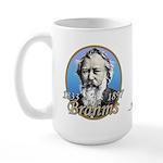 Johannes Brahms Large Mug