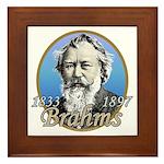 Johannes Brahms Framed Tile