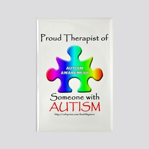 Proud Therapist Rectangle Magnet