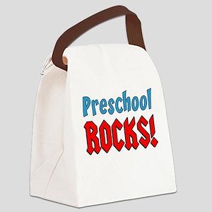 Preschool Rocks Canvas Lunch Bag