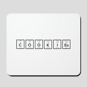 Cookies Chemical element C57c7 Mousepad