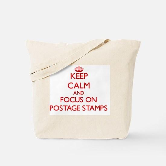 Cute Us postage Tote Bag