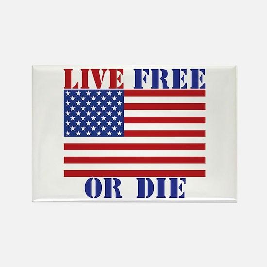Live Free or Die Magnets