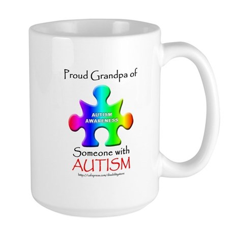 Proud Grandpa Large Mug