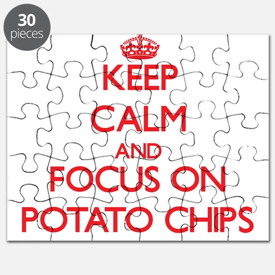 Cute I love potatoes Puzzle